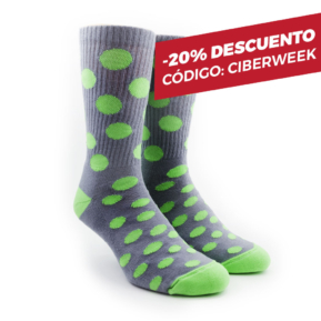 Medias Green Bubble Oliver Socks